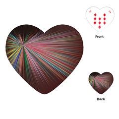 Background Vector Backgrounds Vector Playing Cards (heart)  by Nexatart