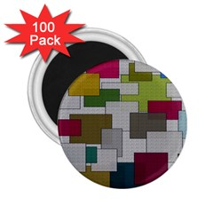 Decor Painting Design Texture 2 25  Magnets (100 Pack)  by Nexatart