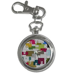 Decor Painting Design Texture Key Chain Watches by Nexatart