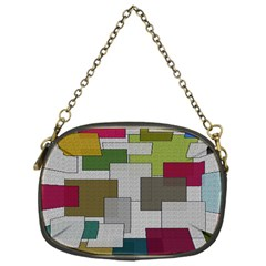 Decor Painting Design Texture Chain Purses (one Side)  by Nexatart