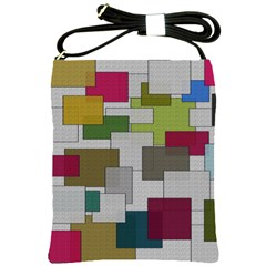 Decor Painting Design Texture Shoulder Sling Bags by Nexatart
