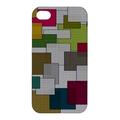 Decor Painting Design Texture Apple Iphone 4/4s Premium Hardshell Case