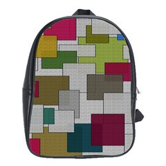 Decor Painting Design Texture School Bags (xl)  by Nexatart