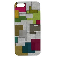 Decor Painting Design Texture Apple Iphone 5 Hardshell Case With Stand by Nexatart