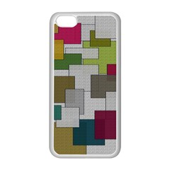 Decor Painting Design Texture Apple Iphone 5c Seamless Case (white) by Nexatart