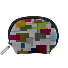 Decor Painting Design Texture Accessory Pouches (small)  by Nexatart