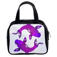 Koi Carp Fish Water Japanese Pond Classic Handbags (2 Sides) by Nexatart