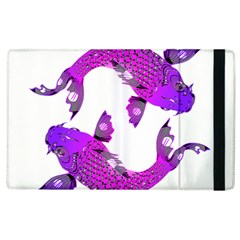 Koi Carp Fish Water Japanese Pond Apple Ipad 3/4 Flip Case