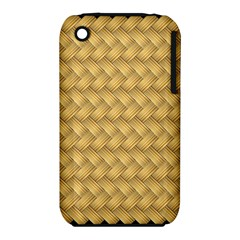 Wood Illustrator Yellow Brown Iphone 3s/3gs