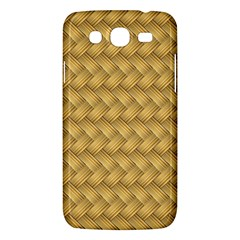Wood Illustrator Yellow Brown Samsung Galaxy Mega 5 8 I9152 Hardshell Case  by Nexatart