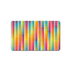 Background Colorful Abstract Magnet (name Card)
