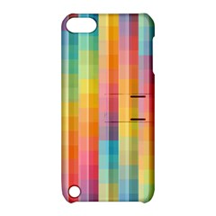Background Colorful Abstract Apple Ipod Touch 5 Hardshell Case With Stand by Nexatart