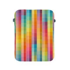 Background Colorful Abstract Apple Ipad 2/3/4 Protective Soft Cases by Nexatart