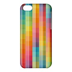 Background Colorful Abstract Apple Iphone 5c Hardshell Case by Nexatart