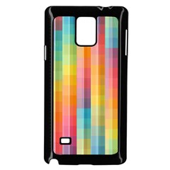 Background Colorful Abstract Samsung Galaxy Note 4 Case (black)