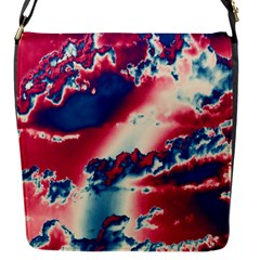 Sky Pattern Flap Messenger Bag (s) by Valentinaart