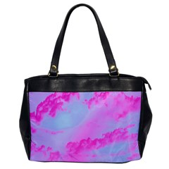 Sky Pattern Office Handbags by Valentinaart
