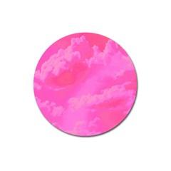 Sky pattern Magnet 3  (Round)