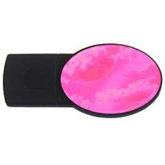 Sky pattern USB Flash Drive Oval (4 GB)