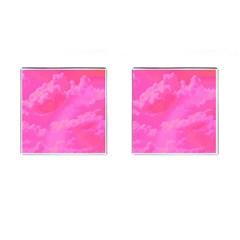 Sky pattern Cufflinks (Square)