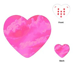 Sky pattern Playing Cards (Heart)