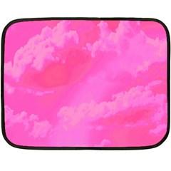 Sky pattern Double Sided Fleece Blanket (Mini)