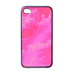 Sky pattern Apple iPhone 4 Case (Black)