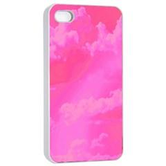 Sky pattern Apple iPhone 4/4s Seamless Case (White)