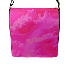 Sky Pattern Flap Messenger Bag (l)  by Valentinaart