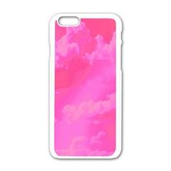 Sky pattern Apple iPhone 6/6S White Enamel Case