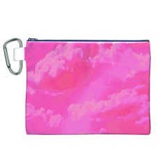 Sky Pattern Canvas Cosmetic Bag (xl) by Valentinaart