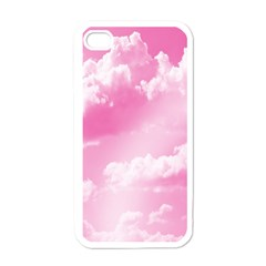 Sky Pattern Apple Iphone 4 Case (white) by Valentinaart
