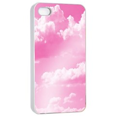 Sky Pattern Apple Iphone 4/4s Seamless Case (white) by Valentinaart