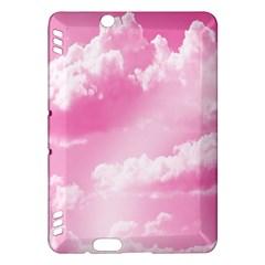 Sky Pattern Kindle Fire Hdx Hardshell Case by Valentinaart