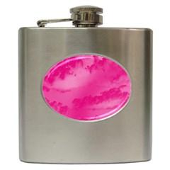Sky Pattern Hip Flask (6 Oz) by Valentinaart