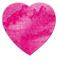 Sky Pattern Jigsaw Puzzle (heart) by Valentinaart