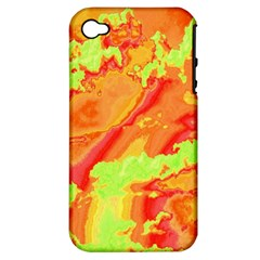 Sky Pattern Apple Iphone 4/4s Hardshell Case (pc+silicone) by Valentinaart