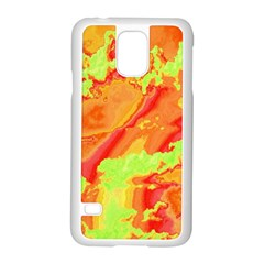 Sky Pattern Samsung Galaxy S5 Case (white) by Valentinaart