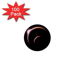 Planet Space Abstract 1  Mini Magnets (100 Pack)  by Nexatart