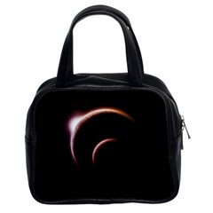 Planet Space Abstract Classic Handbags (2 Sides)