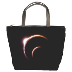 Planet Space Abstract Bucket Bags