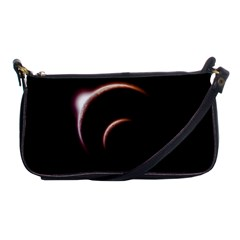 Planet Space Abstract Shoulder Clutch Bags by Nexatart