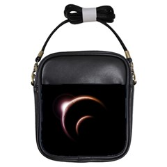 Planet Space Abstract Girls Sling Bags by Nexatart