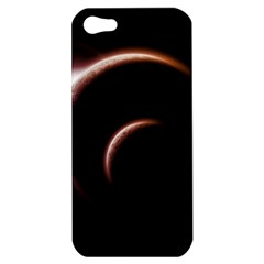 Planet Space Abstract Apple Iphone 5 Hardshell Case by Nexatart