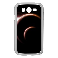 Planet Space Abstract Samsung Galaxy Grand Duos I9082 Case (white)