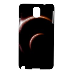 Planet Space Abstract Samsung Galaxy Note 3 N9005 Hardshell Case by Nexatart