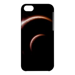 Planet Space Abstract Apple Iphone 5c Hardshell Case by Nexatart