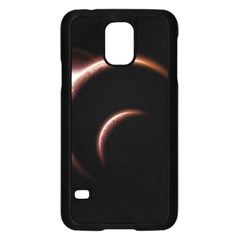 Planet Space Abstract Samsung Galaxy S5 Case (black)
