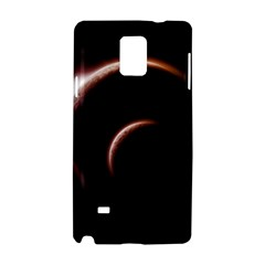Planet Space Abstract Samsung Galaxy Note 4 Hardshell Case by Nexatart