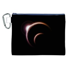Planet Space Abstract Canvas Cosmetic Bag (xxl) by Nexatart